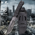 HX уличный 9Cr18Mov сталь  охотничий нож для кемпинга  тактический фиксированный нож  прямой нож для выживания с K ножнами  инструмент для повседн...