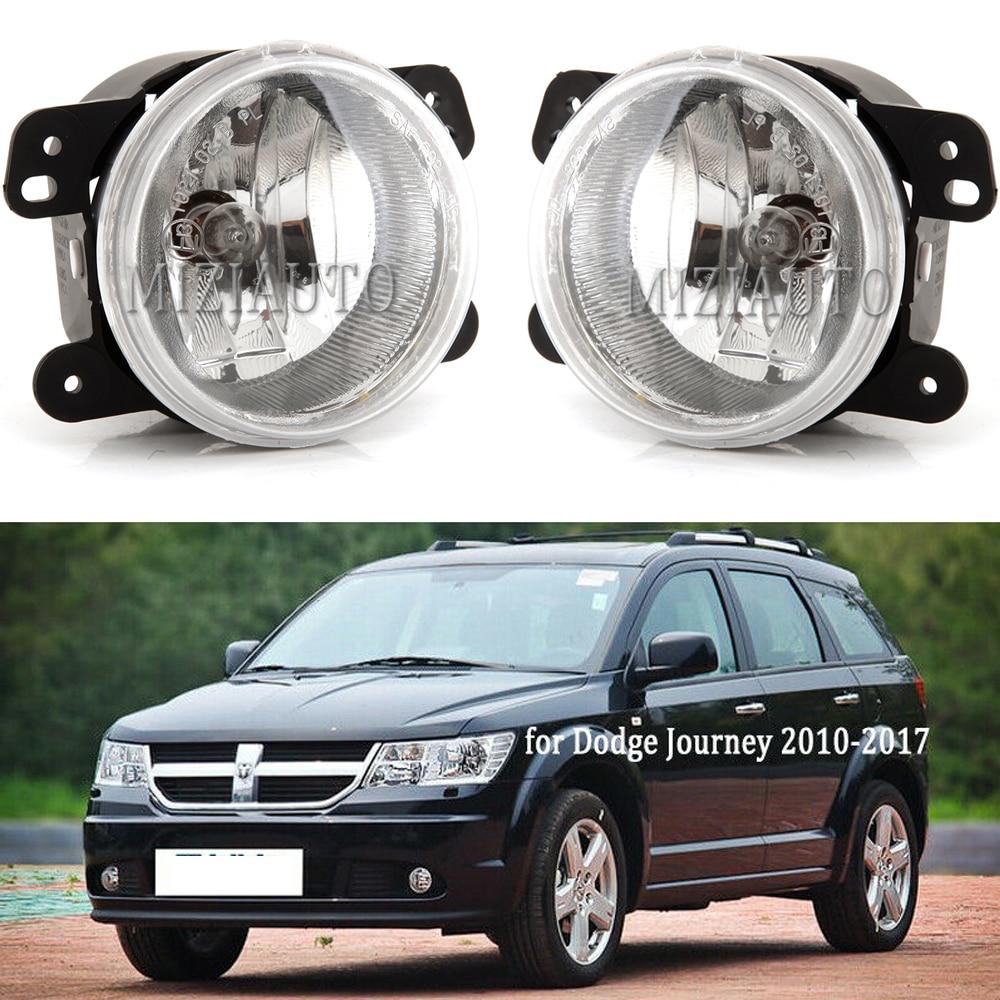2011-2015 Dodge Journey Bumper Fog Lights Aftermarket Left+Right 11 12 13 14 15
