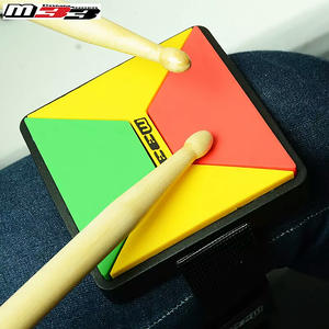 M33 MINI Practice Drum Pad High/Medium/Hard Elasticity in One