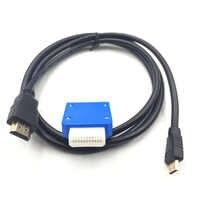 Pour Nintendo Gamecube Mini adaptateur HDMI avec câble HDMI 5FT pour NGC