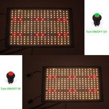 2021 o mais atrasado espectro completo planta luz led cresce luzes samsung lm301h qb tecnologia v4 placas interruptor para ir uv para a planta interna