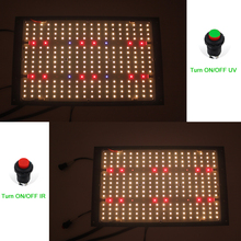 2021 Latest Full Spectrum Plant Light Led Grow Lights Samsung LM301H QB Tech V4 Boards Switch for UV IR for Indoor Plant
