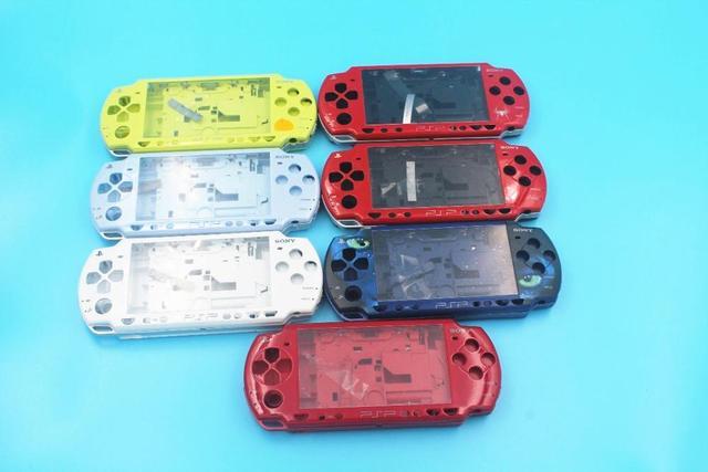 Limité pour PSP2000 PSP 2000 Console de jeu remplacement boîtier complet coque housse avec Kit de boutons