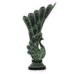Archaizuj artykuły wyposażenia wazonów pawia ozdobne z brązu artykuły domowe
