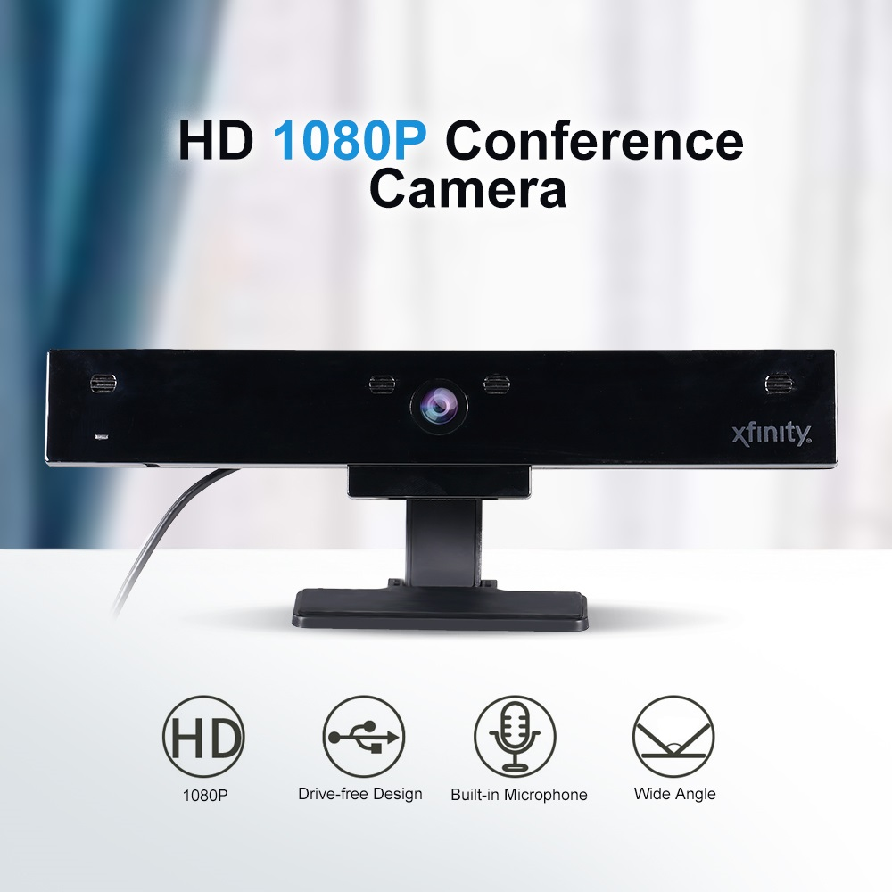 5 Million Pixels High-Definition 1080P USB Webcam with Built-in Microphone and Auto-Focus Lens 1