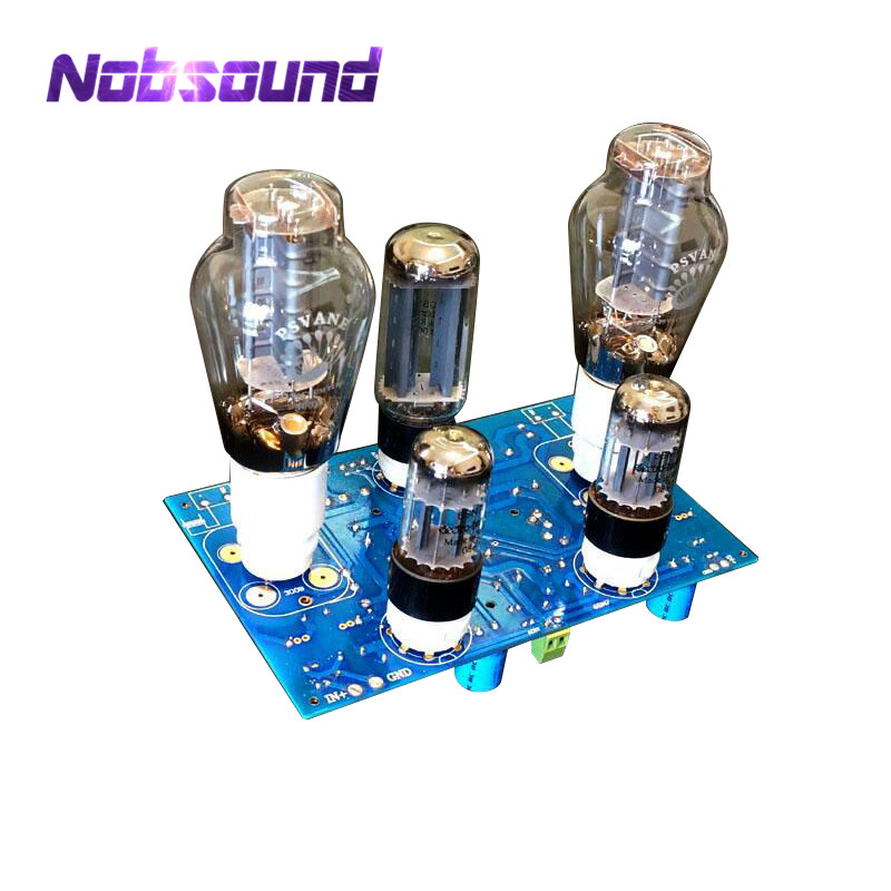 Nobsound Luxury 2.0 Channel 300B+6SN7+5U4G Single-ended Class A Tube Amplifier DIY KIT For HIFI 8W+8W