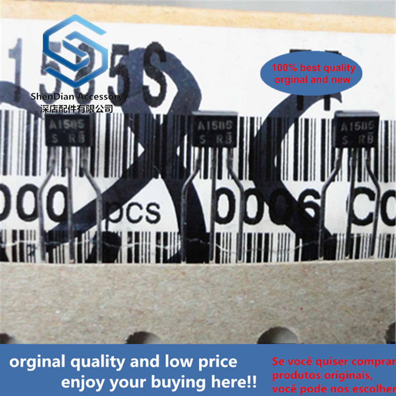 30pcs 100% Orginal New 2SA1585S A1585  TO-92S Low VCE(sat) Transistor (−20V, −3A) Real Photo