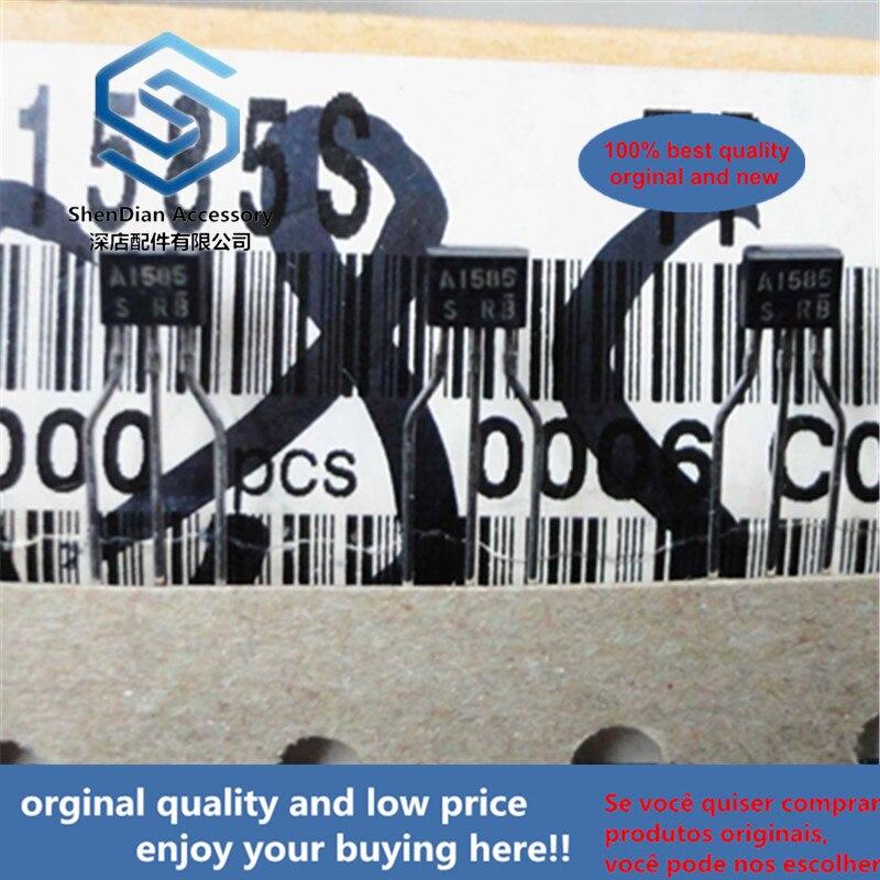 30pcs 100% Orginal New 2SA1585S A1585  TO-92S Low VCE(sat) Transistor (−20V, −3A) Real Photo