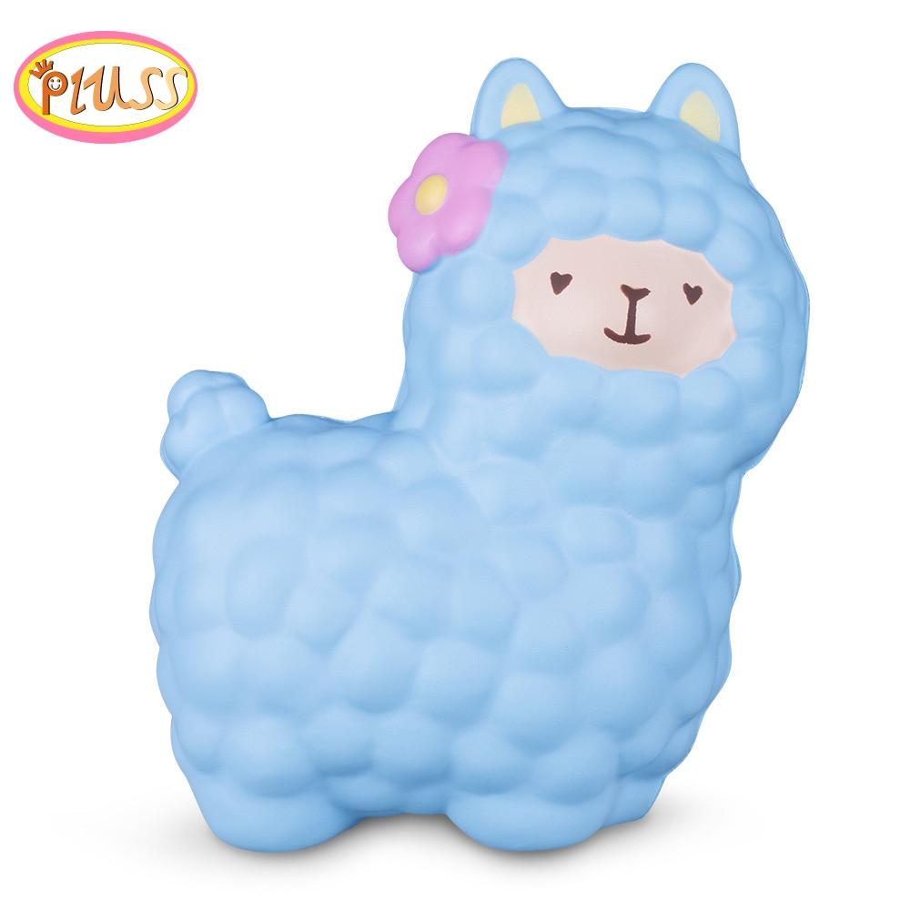 Squishies Slow Rising Jumbo Kawaii Giant Squishy Alpaca Squishy Sheep Antistress Stress Relief Exquisite Soft Gift