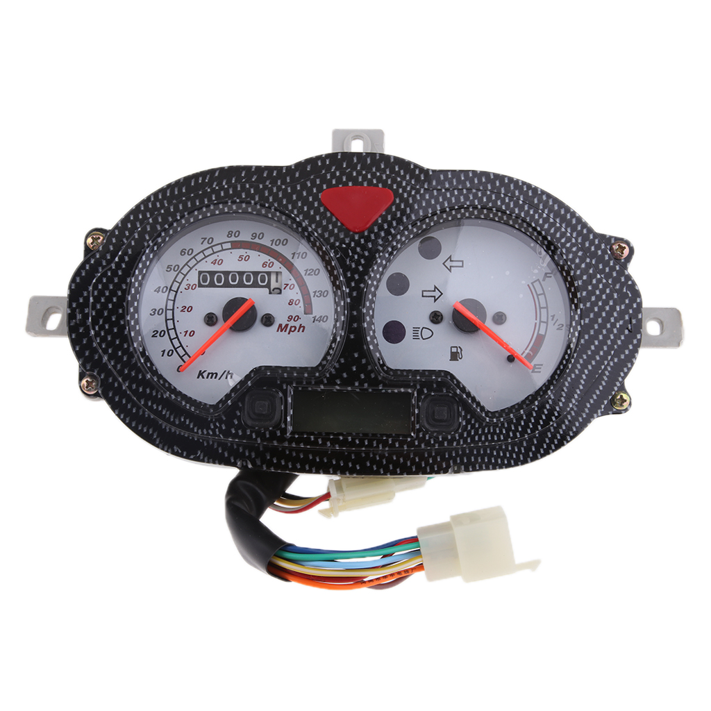 9'' Scooter ATV Speedometer Assembly 12V for Yamati RX8 KEEWAY FOCUS, F-ACT