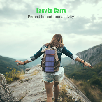 Solar Power Solar Energy Backpack
