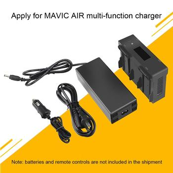 4 in 1 Intelligent Drone Battery Charging Hub Car Charger for D-JI Mavic Air