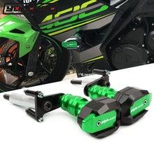 2020 para kawasaki ninja400 ninja 400 z400 2018-2021 motocicleta caindo proteção quadro slider carenagem guarda acidente protetor almofada