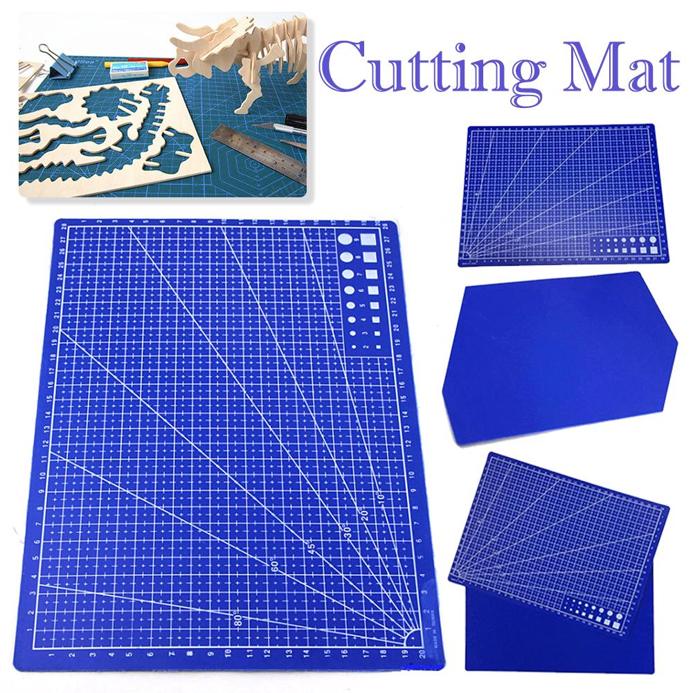 1 PCS A4 Grid Lines Cutting Mat Craft Card Fabric Leather Paper Board Handmade Diy Accessory Cutting Plate #BW