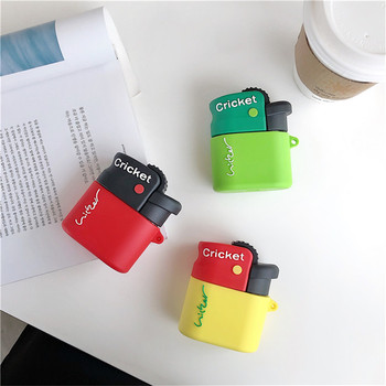 3D Cute Lighter Cricket Shape Silicone Earphone Case For Huawei Freebuds 3 Case Wireless Bluetooth Headphone Headset Cover