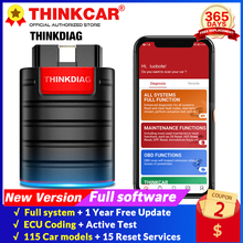 THINKDIAG Volle Sytem + 15 Reset software 1 Jahr freies update Auto OBD2 Scanner OBDII bluetooth code reader PK AP200 scan tool