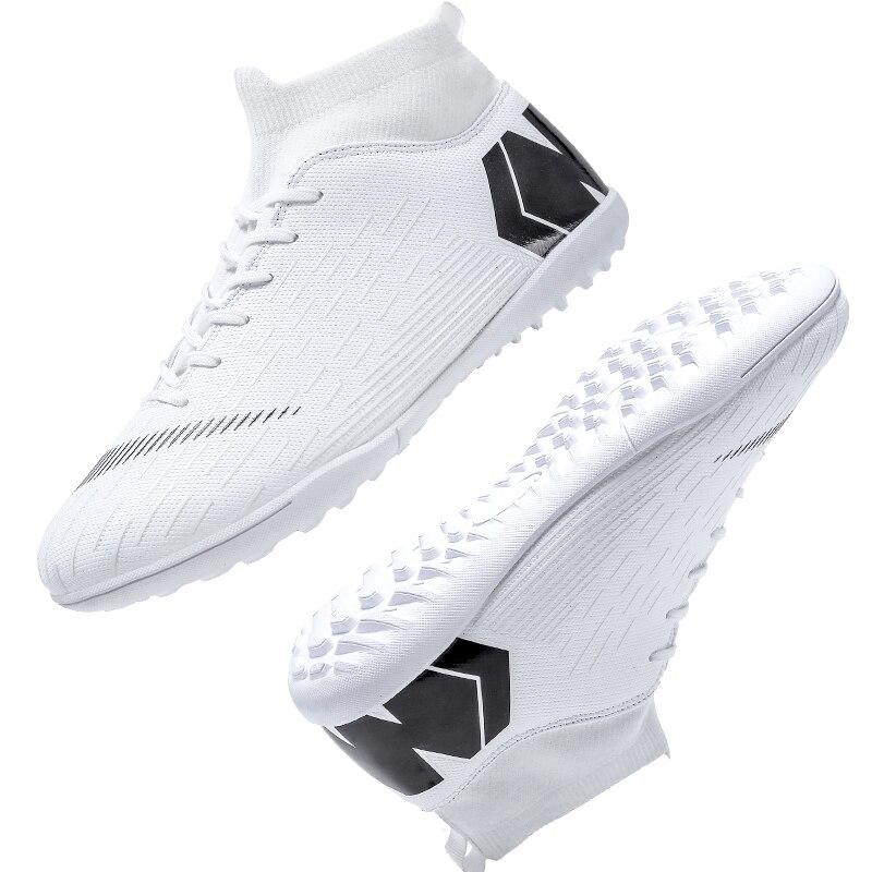 Outdoor Football Boots Men Sneakers Soccer Boots Turf Football Boots Kids Soccer Cleats AG/FG Spikes Training Sport Futsal Shoes 19