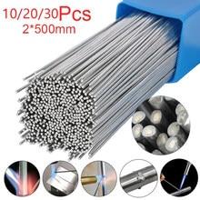 Solda retangular de alumínio do elétrodo 1.6/2mm da baixa temperatura do alumínio do pó da não-solda de 10/20/30 pces