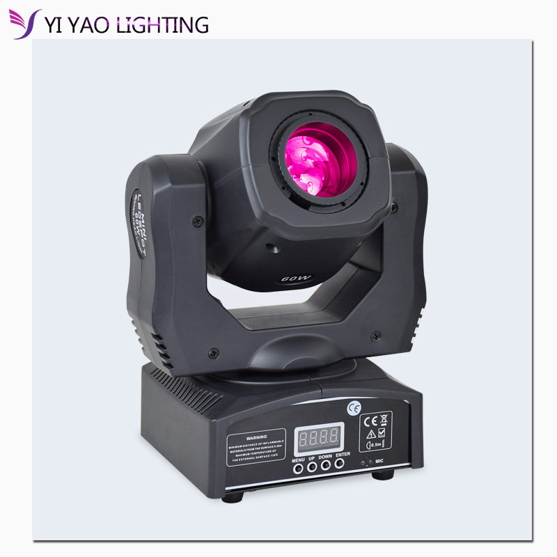 60W Led Spot Moving Head Light DJ Beam Lights Led Lyre Spot With Gobo&color Wheel For Disco Prty Equipmentnt