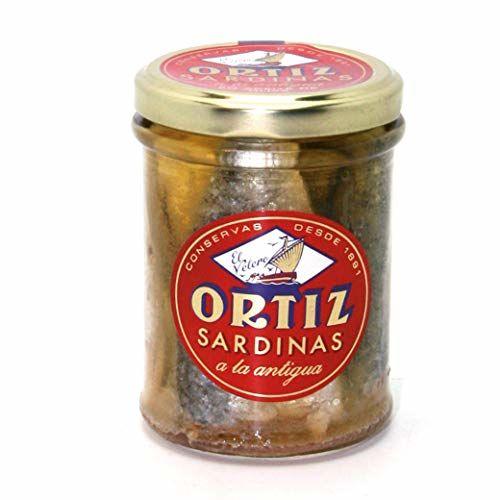 ORTIZ Sardines à L'Huile D'Olive Bocal190 G