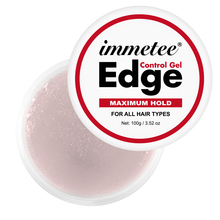 Edge Control Gel 100g Refreshing Hair Fixative Gel Hair Oil Wax Cream Edge Control Long-lasting Hair Cream Broken Hair Finishing