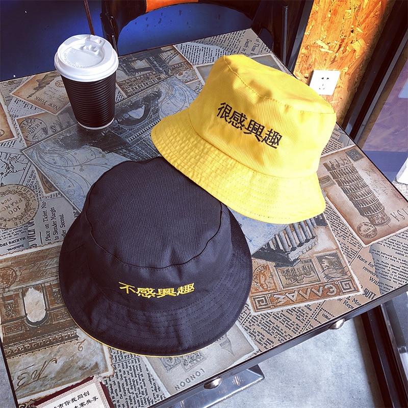 Travel AccessoriesFlat Bucket Fishermen Hat Women Summer Two Side Reversible Unisex Fashion Bob Caps Hip Hop Gorros Men Sun Hat