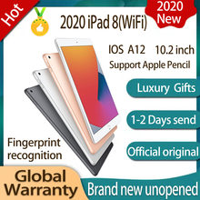Ipad 8 (2020) Wifi Ios A12, Uitgerust Met 10.2-Inch Retina Display, achter 8 Miljoen Camera, Ondersteuning Apple Potlood