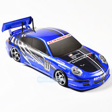 HSP Racing Rc Drift Car 4wd 1:10 Electric Power On Road Rc Car 94123 FlyingFish 4x4 vehicle High Speed Hobby Remote Control Car video rc racing video rc vehicle drift smart wifi control color random off road 2 4ghz camera rc car bg1516