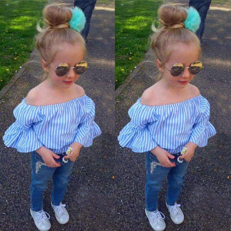 Toddler Girl Clothes 2019 New Auntumn Baby Girl Costume Kids Clothes Sets Children Clothing Girls Outfits Suit 2 3 4 5 6 7 Years