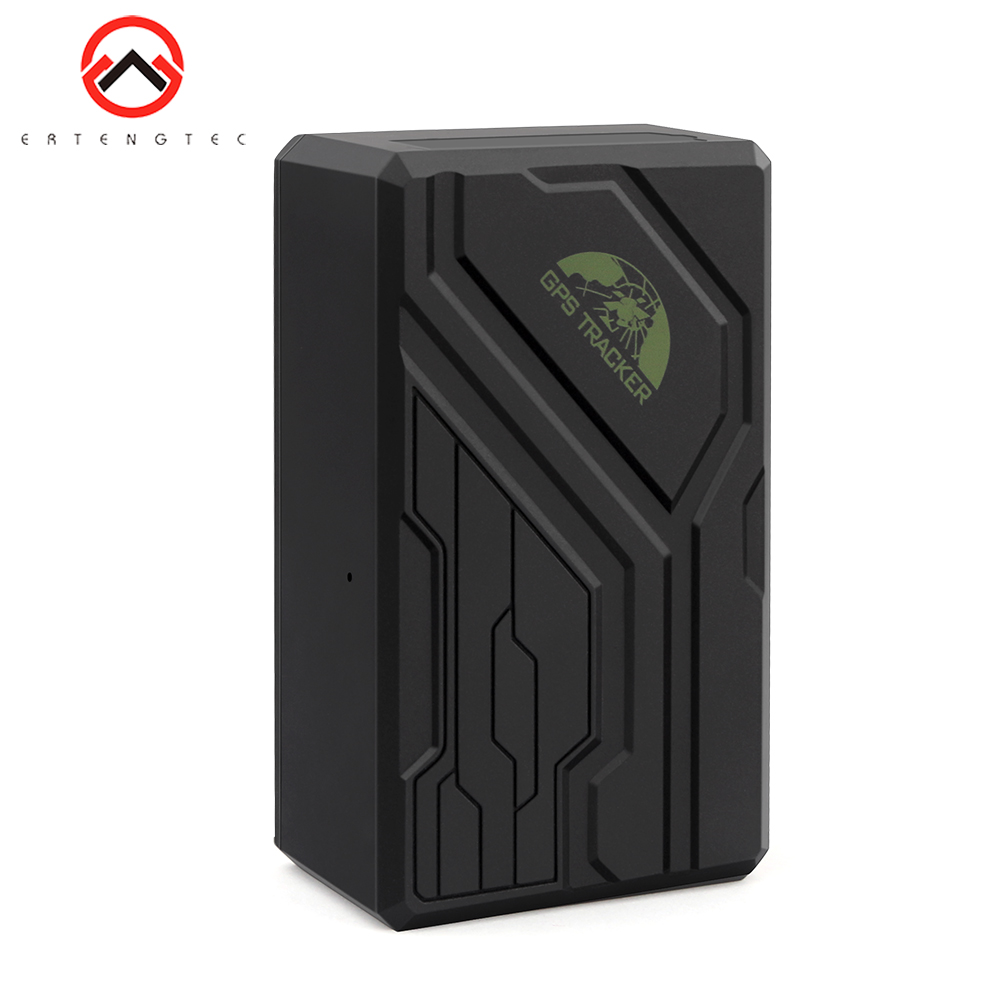 Car Tracker Free Installation SOS 10000mAh Car GPS Tracker 200 Days Standby Cut Oil Realtime Track By Time Tracking GPS for Cars