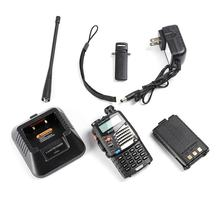 Compact Size Baofeng UV-5RA For Police Walkie Talkies Scanner Radio Vhf Uhf Dual Band Cb Ham Radio Transceiver(China)