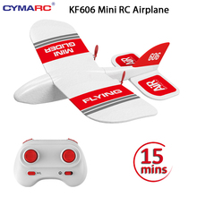 KF606 2.4Ghz RC Airplane Flying Aircraft EPP Foam Glider Toy Airplane 15 Minutes Fligt Time RTF Foam Plane Toys Kids Gifts