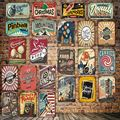Кинотеатр Mike86, Рождественский металлический знак «LOVE YOU», винтажный магазин, железная живопись, праздничный постер для вечеринки, искусство...