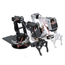Arduino のロボット 6 自由度アルミロボットアームクランプ爪マウント機械式ロボットアームサーボ金属サーボホーン回転フランジベース 20% オフ