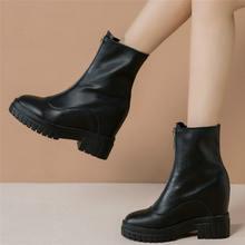 Женские ботинки для верховой езды в стиле панк туфли лодочки