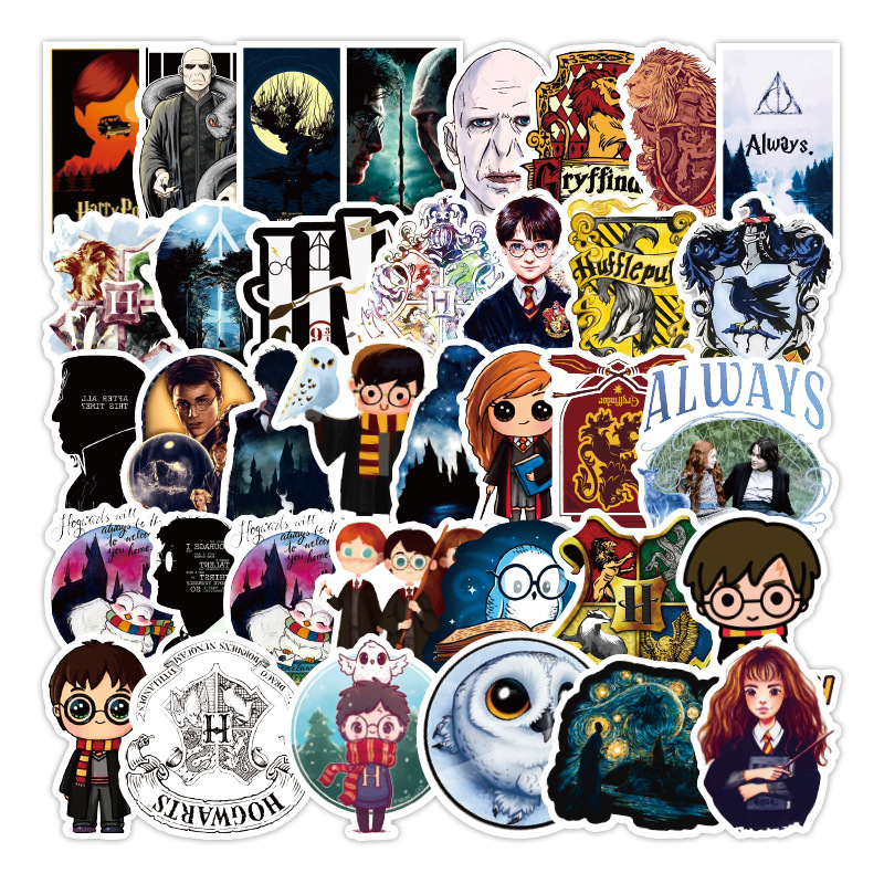 10/30/50 Pcs Girl Things Kawaii Movie Harry Stickers Waterproof Funny Sticker For Laptop Scooter Skateboard Children Toys