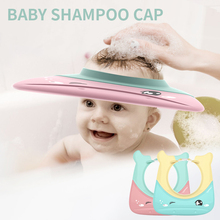 Baby Shampoo Cap Cute Wing Animal Baby Shampoo Hats Toddler Wash Hair Shield Protect Eye Kids Bath Visor Caps Bathing Shower Cap