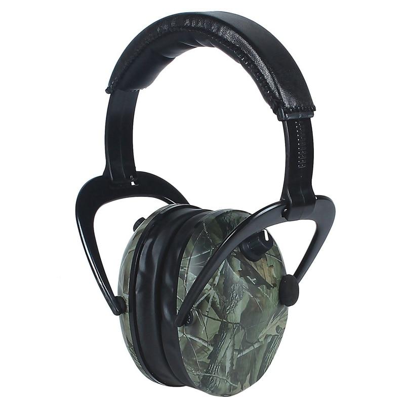 Earmuffs Hunting Ear Protection Anti-Noise Pickup Earmuffs NRR 28Db Soundproof Folding Hearing Protector Headphones