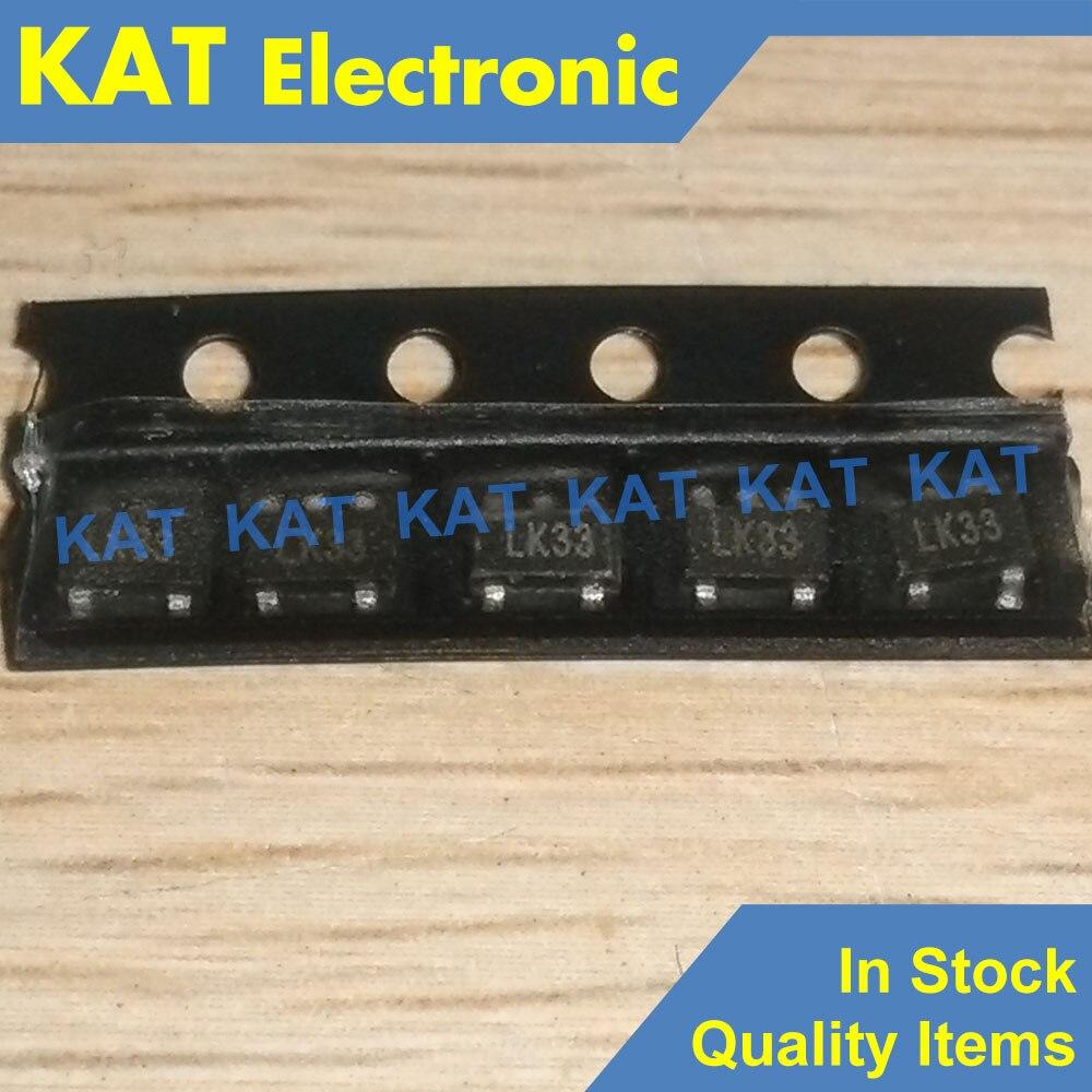 10PCS/Lot MIC5203-3.3BM5 Marking Code LK33 SOT-23-5 80mA Low-Dropout Volta Regulator