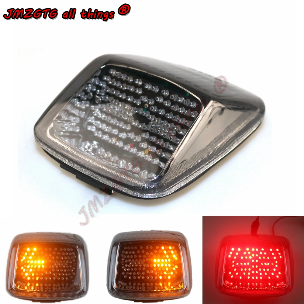 Tail Light LED Clear Integrated Turn Signal Harley Davidson 07-17 Sportster 1200