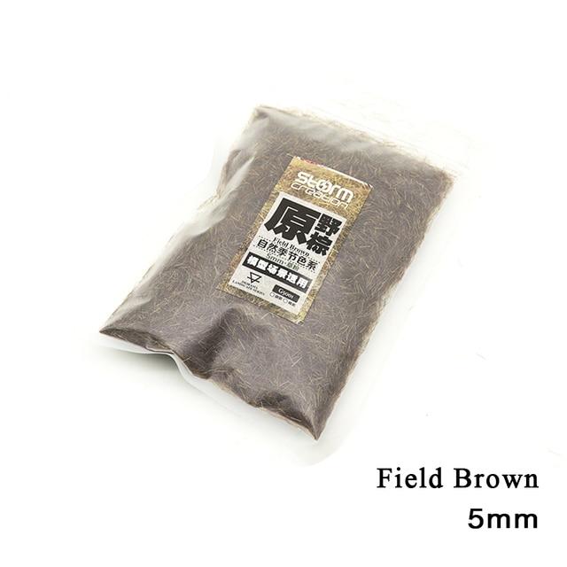 2pcs 5mm Static Grass Tuft Model Flocking Nylon Lawn Powder Miniature Scene Railway Layout Landscape DIY Terrain Materials 6