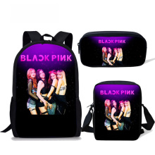 KPOP Blackpink School Bags for Girls Famous Star Children Backpack Teenager Kids Bags Schoolbag Mochila Escolar new children trolley school backpack wheels travel bags climb stair schoolbags kids trolley bookbags detachable mochila escolar