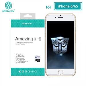 Image 2 - Nillkin de vidrio templado para iPhone 11 12 Pro Max 8 7 Plus X XS X Max XR increíble H+Pro Protector de pantalla para iPhone 12 Mini de vidrio