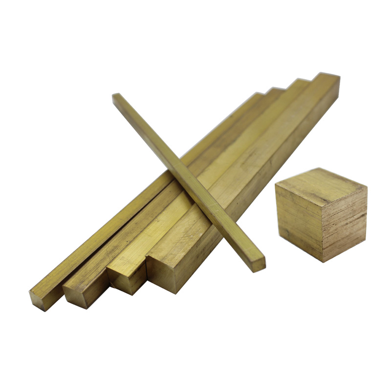 Solid Brass Square Bars/rods