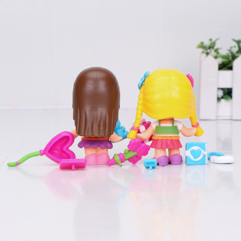 Image 5 - cute princess Pinypon dolls Detachable Kids doubleface Action Toy Figures Dolls-in Action & Toy Figures from Toys & Hobbies