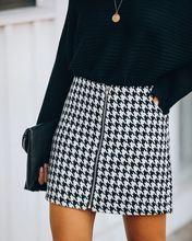Женская хлопковая короткая юбка в клетку женская одежда хорошего