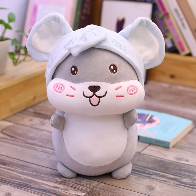 40 cm of cute soft Home Decor new hamster doll plush toys for boys and girls, can be birthday, Christmas gifts Baby Sleeping Toy