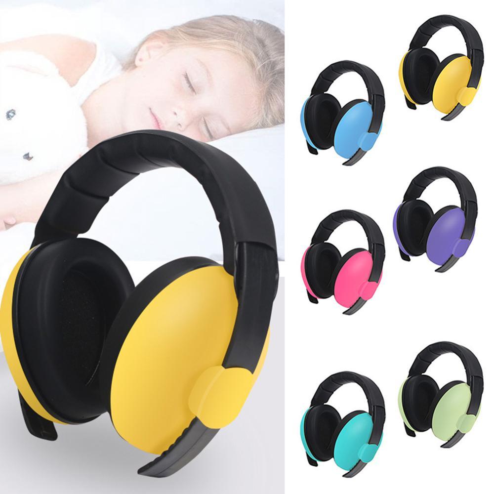 Baby Children Sleep Ear Defenders Noise Proof Earmuffs Protection Baby Boys Girls Anti-Noise Durable Headphone