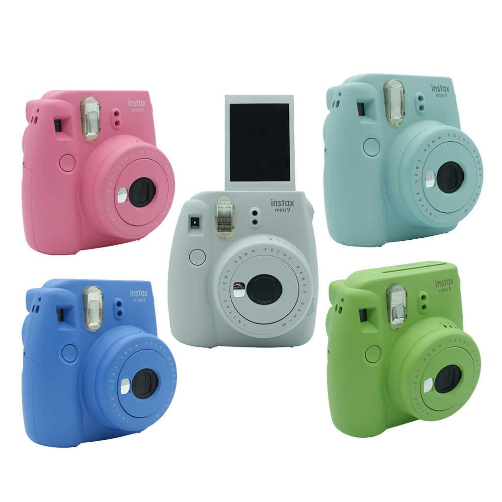 Fujifilm INSTAX Mini 9 мгновенная пленка для камеры, Подарочный комплект mini9, подарок на день рождения, Рождество, Новый Год, модный обновленный + 50 листов