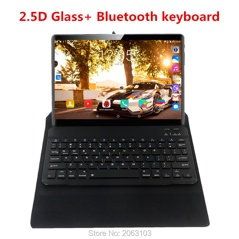 2020 Android 9.0 Tablet Pc 10.1 Inch 3g 4g LTE Mobile Sim Card 4G Phone Call Tablet Pc 6GB+128GB Octa Core Tablets Pc
